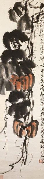 An image of Pumpkins by Qi Baishi