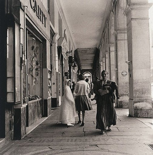 An image of Rue de Rivoli, Paris by Lewis Morley