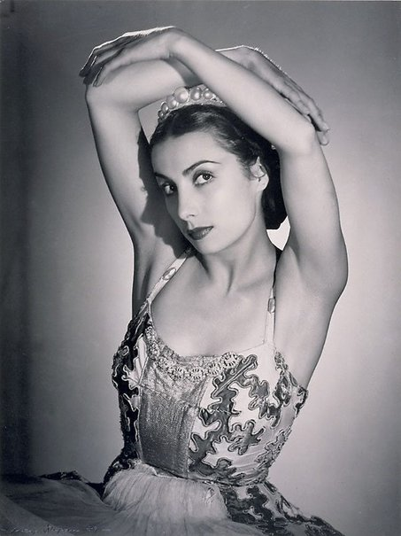 An image of Tamara Toumanova by Max Dupain