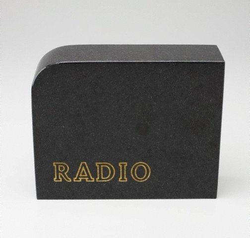 An image of Radio by Richard Tipping