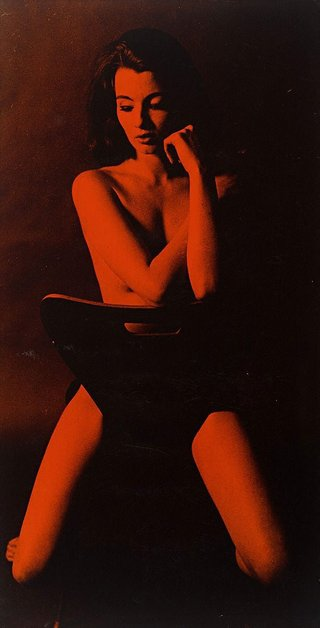 AGNSW collection Lewis Morley Christine Keeler (1963, printed 1965) 127.2004