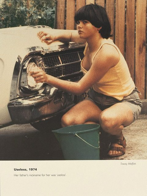 Useless, 1974, 1994, Scarred for Life by Tracey Moffatt