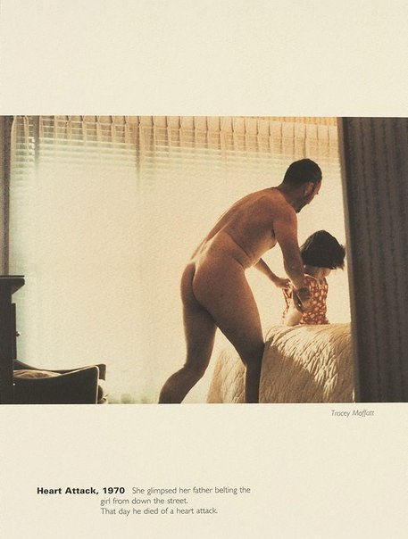 An image of Heart Attack, 1970 by Tracey Moffatt