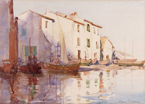 An image of Martigues, south of France by Harold Herbert