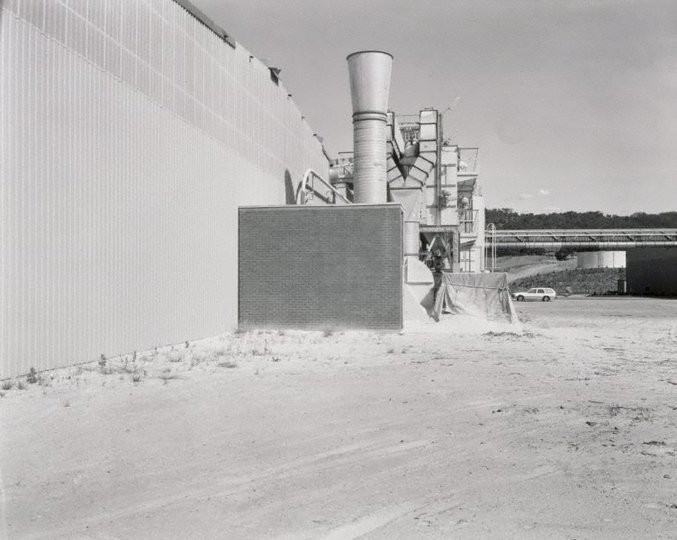 AGNSW collection Fiona Hall Pyneboard Factory, Tumut, New South Wales (1982) 129.1987