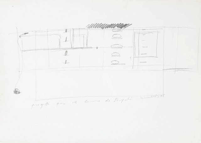 An image of Drawing for 'Untitled 1984'