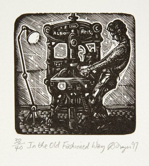 An image of In the old fashioned way by David Frazer