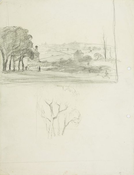 An image of Parramatta countryside by Lloyd Rees