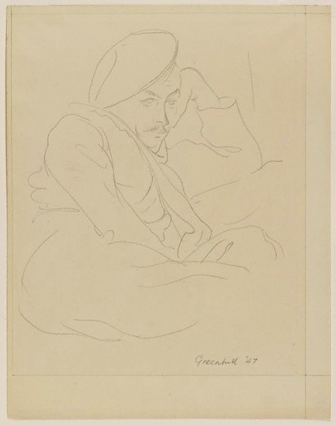 An image of Douglas Watson by Harold Greenhill