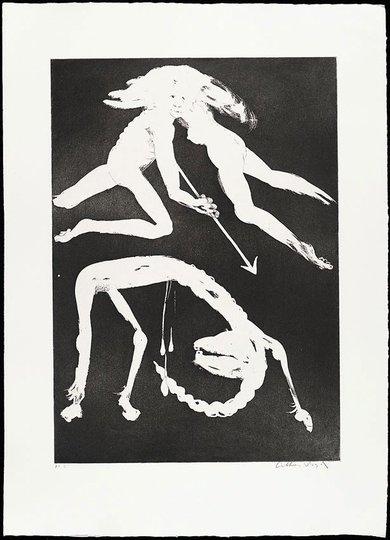 AGNSW collection Arthur Boyd The unicorn in love (1973-1974) 13.1989.12