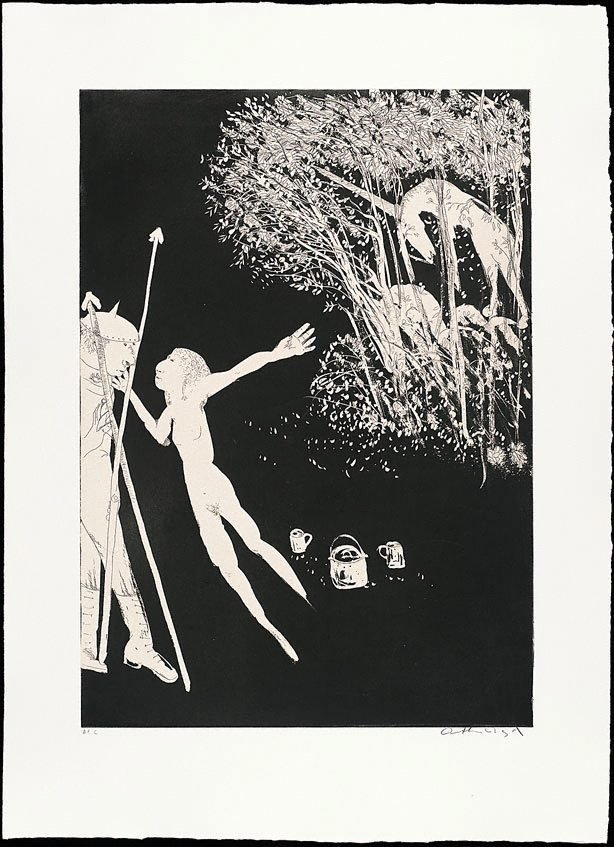 The lady betrays the unicorn II, (1973-1974), The Lady and the Unicorn by Arthur Boyd