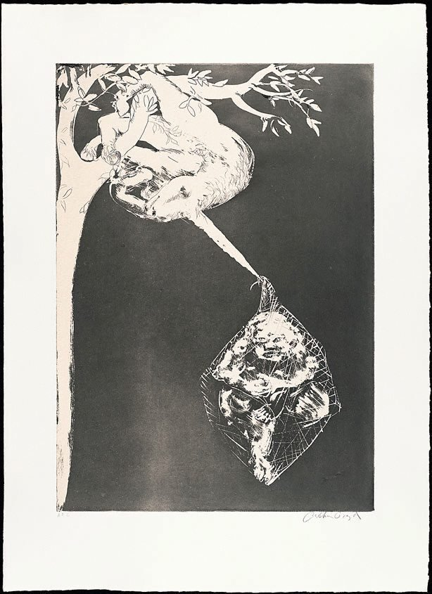 The unicorn's prison song, (1973-1974), The Lady and the Unicorn by Arthur Boyd