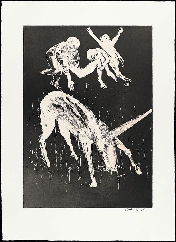 Death of the unicorn II, (1973-1974), The Lady and the Unicorn by Arthur Boyd