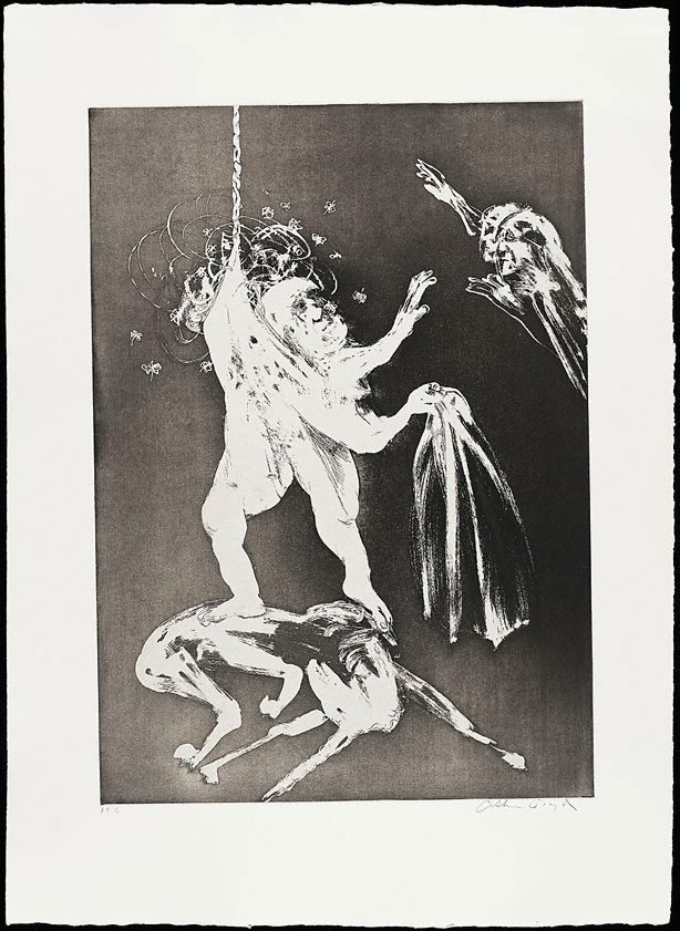 The lady's wedding, (1973-1974), The Lady and the Unicorn by Arthur Boyd