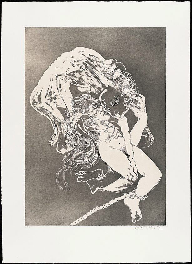The lady's bridal night, (1973-1974), The Lady and the Unicorn by Arthur Boyd