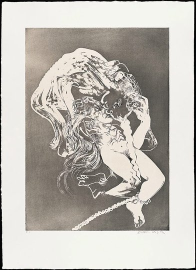 AGNSW collection Arthur Boyd The lady's bridal night (1973-1974) 13.1989.23