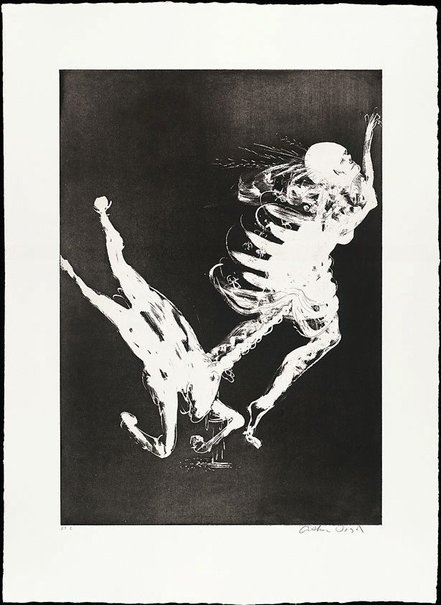 An image of The unicorn's survival litany by Arthur Boyd