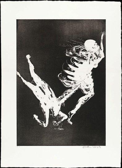 AGNSW collection Arthur Boyd The unicorn's survival litany (1973-1974) 13.1989.3