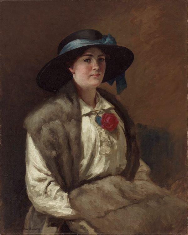 An image of Portrait of Miss Hilary Mackinnon