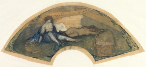 An image of The awakening by Charles Conder