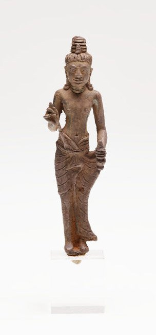 An image of Maitreya, Buddha of the future