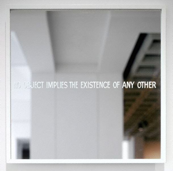No object implies the existence of any other, (1967) by Ian Burn