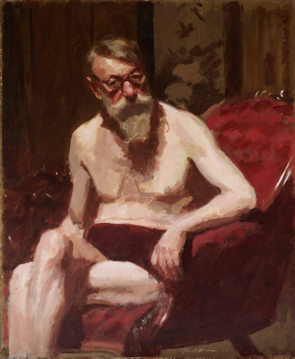 An image of (Self portrait at 75)