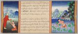 Alternate image of Illustrated manuscript of 'Phra Malai' (poem about the venerable Monk Malai) by
