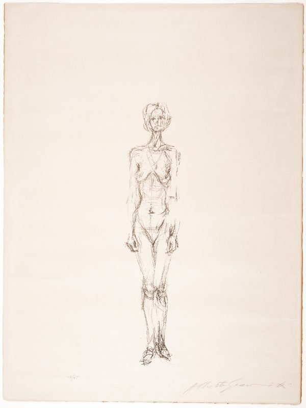 An image of Standing nude II
