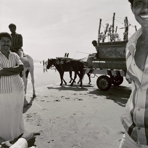 An image of Juha Beach, Bombay by Max Pam