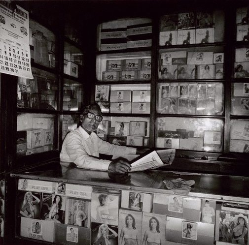 An image of Condom seller 2 Calcutta by Max Pam