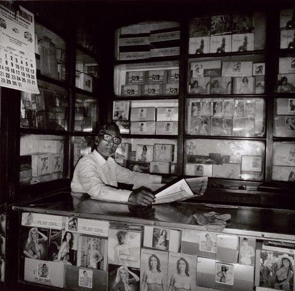 An image of Condom seller 2 Calcutta