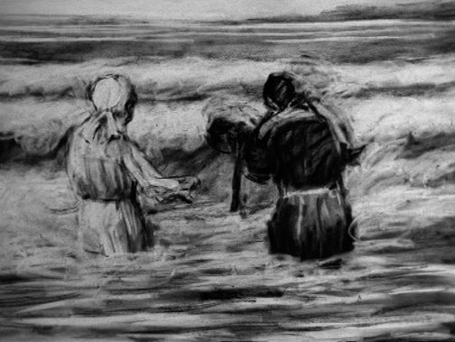 An image of Tide table by William Kentridge