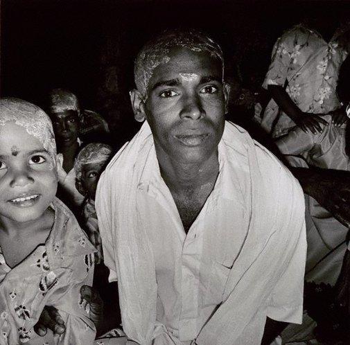An image of Pilgrims, Tiruchirappali, South India by Max Pam