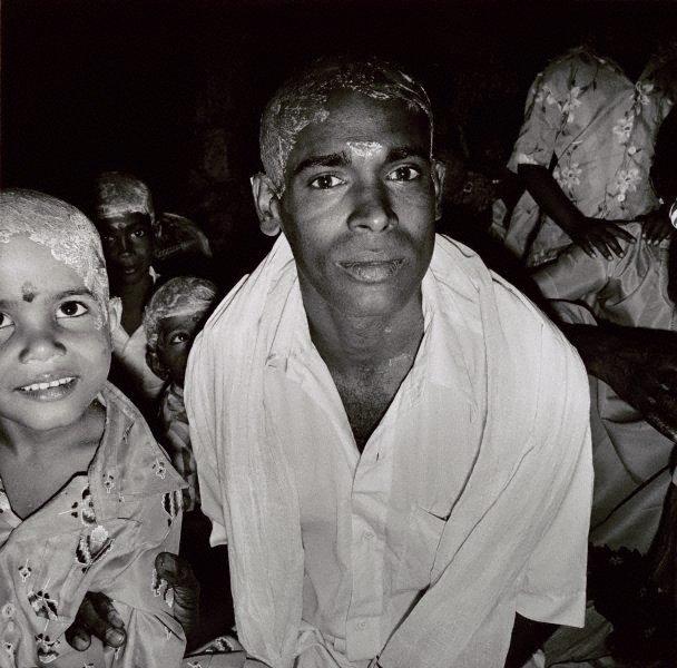 An image of Pilgrims, Tiruchirappali, South India