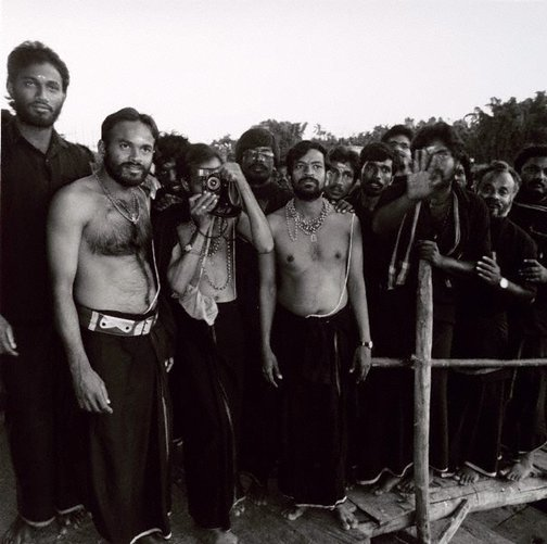 An image of Pilgrims Sri Ngeri, South India by Max Pam