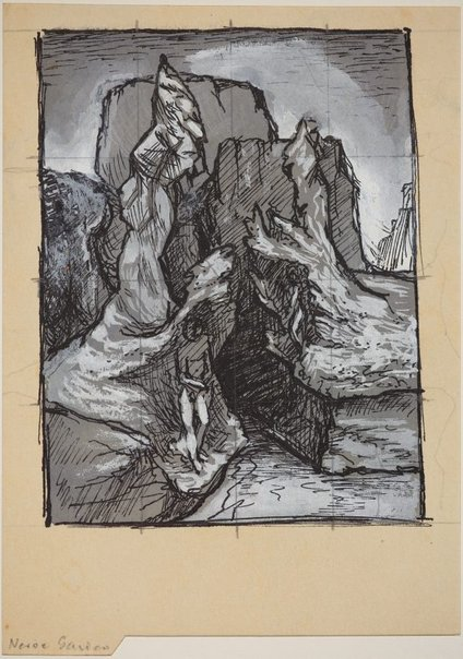 An image of (Compositional studies of rock formations) by James Gleeson