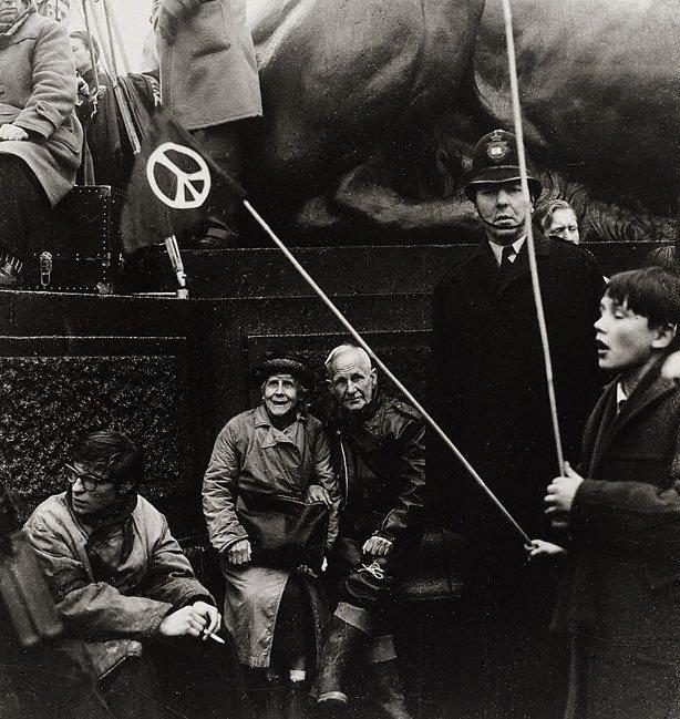 An image of Aldermaston march, Trafalgar Square, London