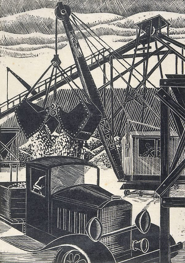 An image of Work for the new bridge