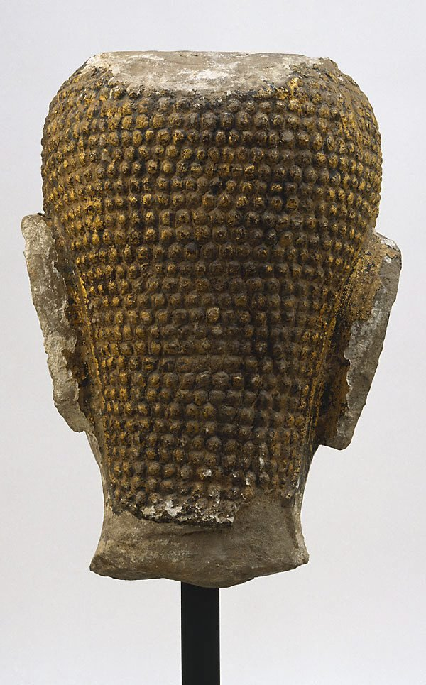 Head of Buddha, (14th century)