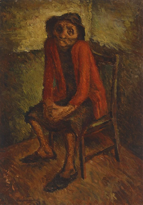 In the waiting room, 1943 by Noel Counihan
