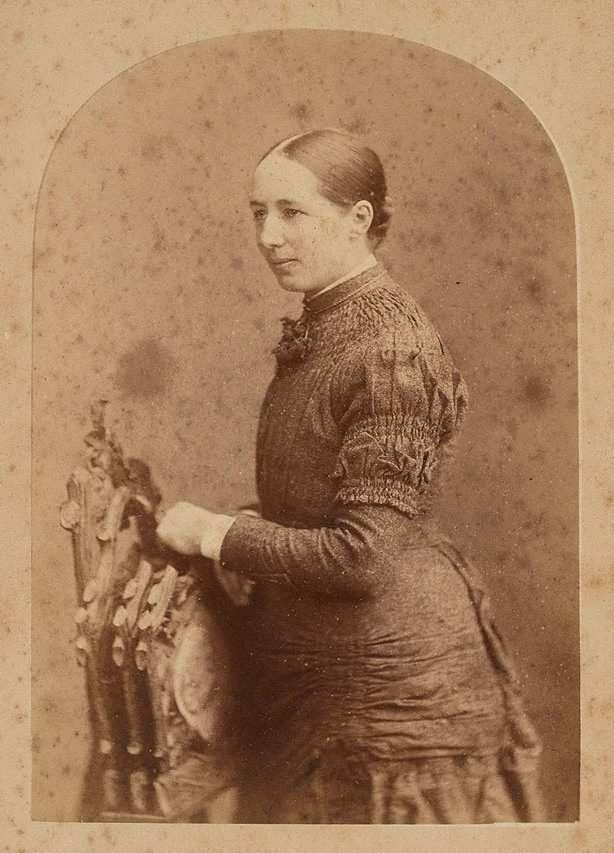 An image of Untitled (portrait of Margaret (Maggie) Thomson Phillips / née Sobo (Mrs. Henry Phillips)