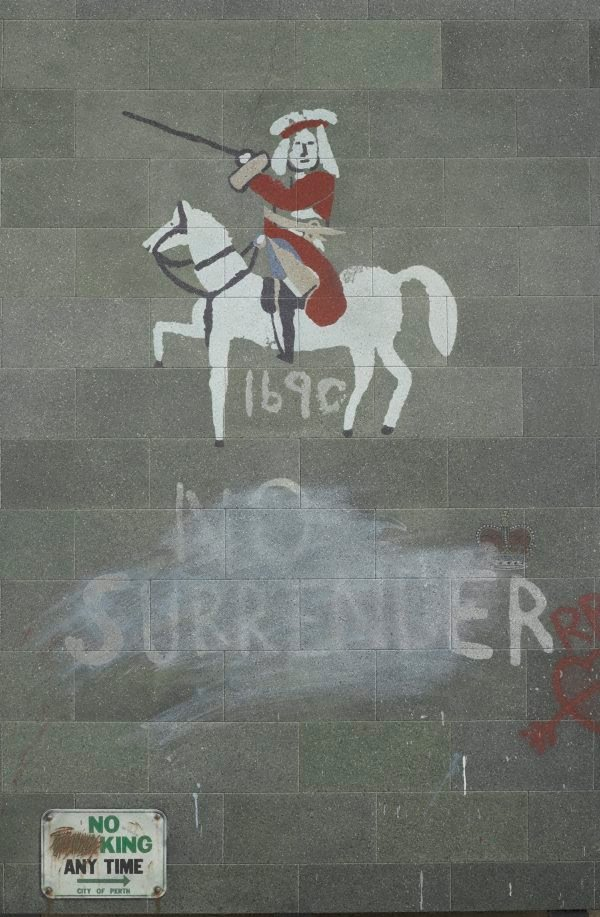 An image of No king no surrender (Sentimentality kills)