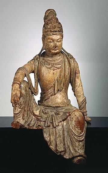 Guanyin, bodhisattva of compassion, (12th century-13th century)