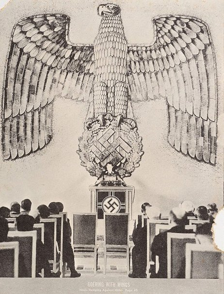 An image of 14. Goering with wings by Sir Eduardo Paolozzi