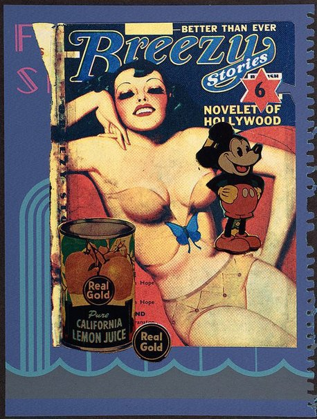 An image of 15. Real gold by Sir Eduardo Paolozzi