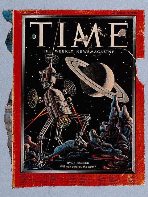 5. Will man outgrow the earth, 1972, Bunk by Sir Eduardo Paolozzi
