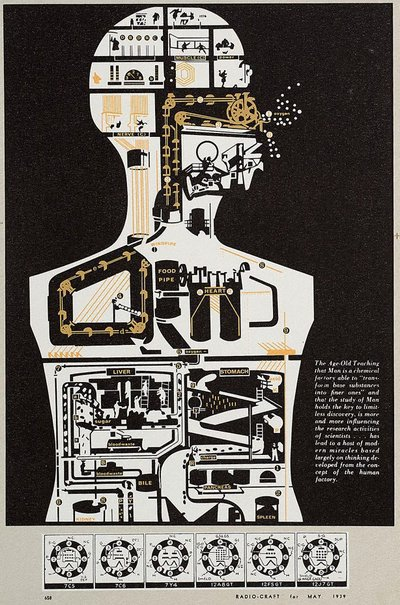An image of 28. Man holds the key by Sir Eduardo Paolozzi