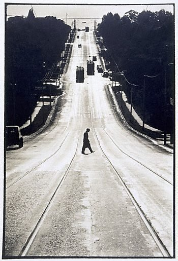 An image of Riversdale Road, Camberwell Vic, 1959