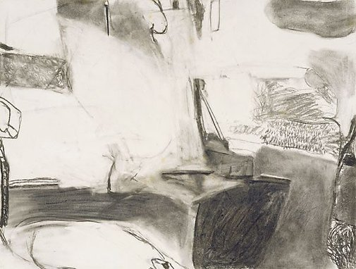 An image of Sigean drawing IV by Brett Whiteley